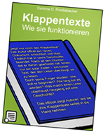 Klappentexte. Wie sie funktionieren (Kindle-eBook)