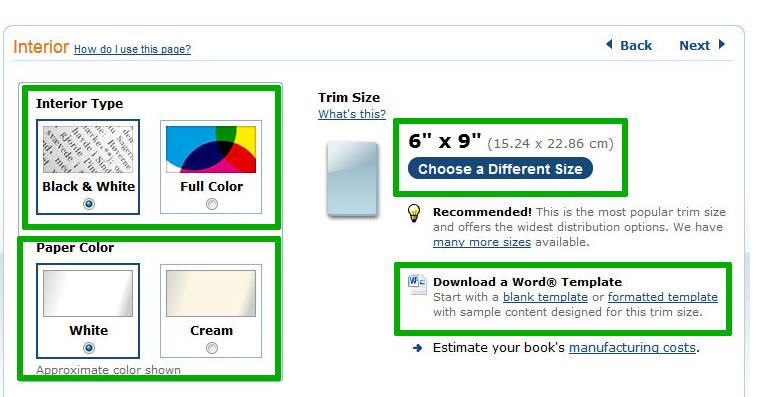 In 5 Schritten ein Buch bei Amazon CreateSpace anlegen | ebokks