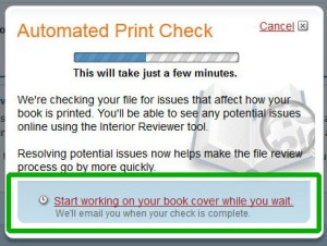CreateSpace: Print Check
