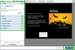 CreateSpace: Der Cover Creator