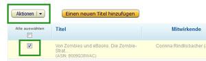 eBook bei KDP Select anmelden