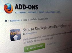 Schicke Blogartikel auf deinen Kindle