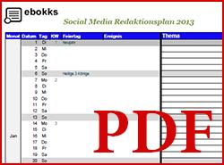 Redaktionsplan-Vorlage PDF
