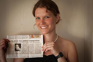 Hannah Siebern in Zeitung