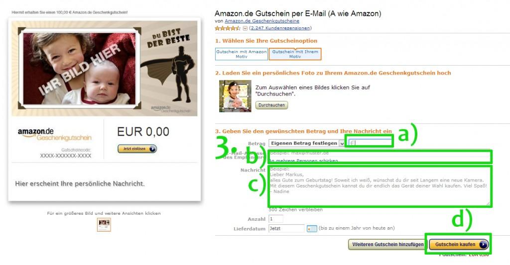 Amazon-Gutschein kaufen