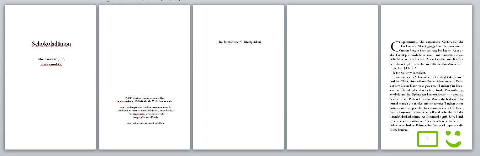 Word 2010: Seitenzahl ab Seite 5