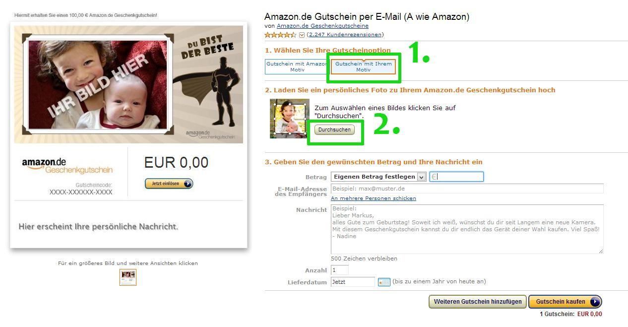 Amazon Gutschein Wieviel Noch Drauf