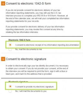 CreateSpace elektronische Signatur