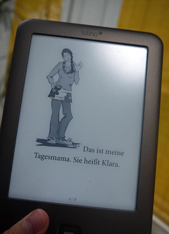 """eBook-Layout """"Ein Tag bei meiner Tagesmama"""""""