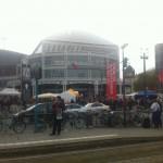 Eingang der Frankfurter Buchmesse