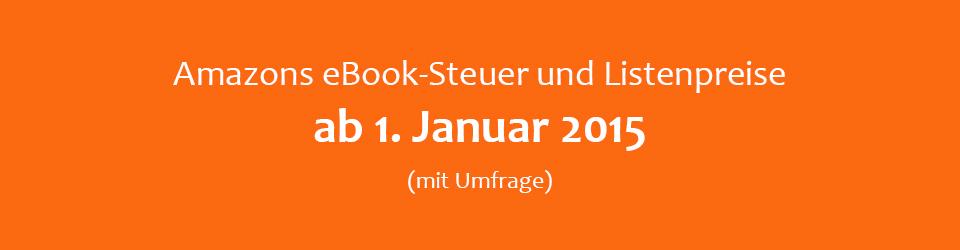 Änderungen bei Amazons eBook-Steuer 2015
