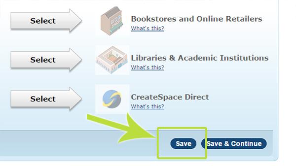 Buch bei CreateSpace