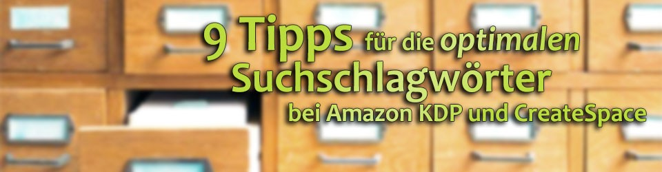 Keywords bei Amazon und Createspace