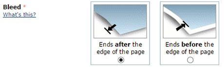 Beschnitt-Option für Buchblock bei CreateSpace