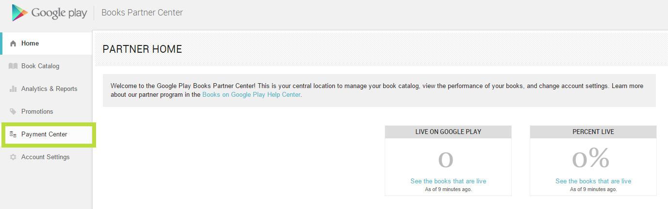 Zahlungscenter bei Google Play