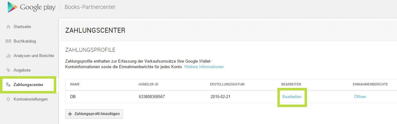 Konto für Google Play verifizieren