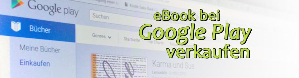 eBook im Google Playstore verkaufen