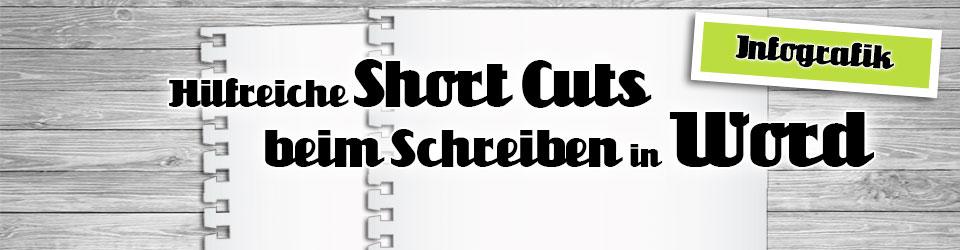 Short Cuts für Autoren in Word