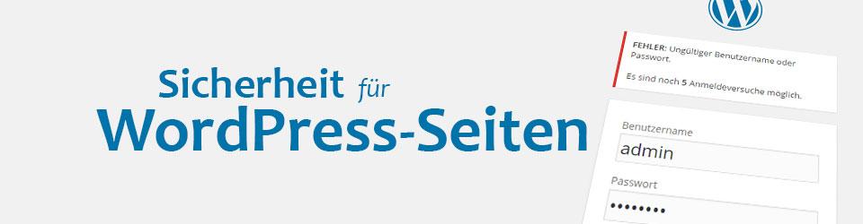 Sicherheitstipps WordPress