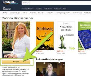 Leser können bei Amazon ihren Lieblingsautoren folgen