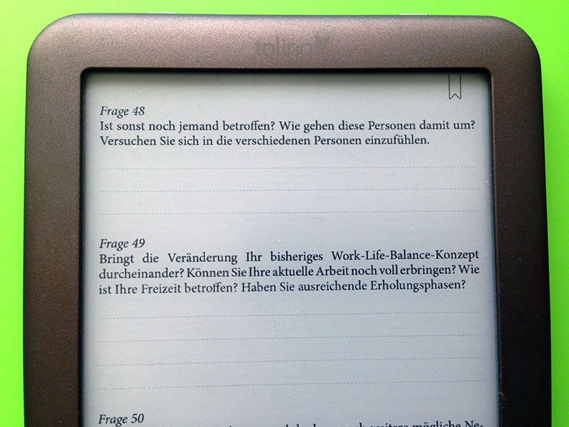 "eBook-Layout ""Ihr Zielnavi"""