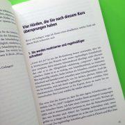 Kapitelanfang eines Schreibratgebers