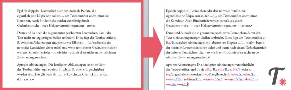 Textbeautifier: Ein Word Add-In für Setzer, Lektoren und Selfpublisher