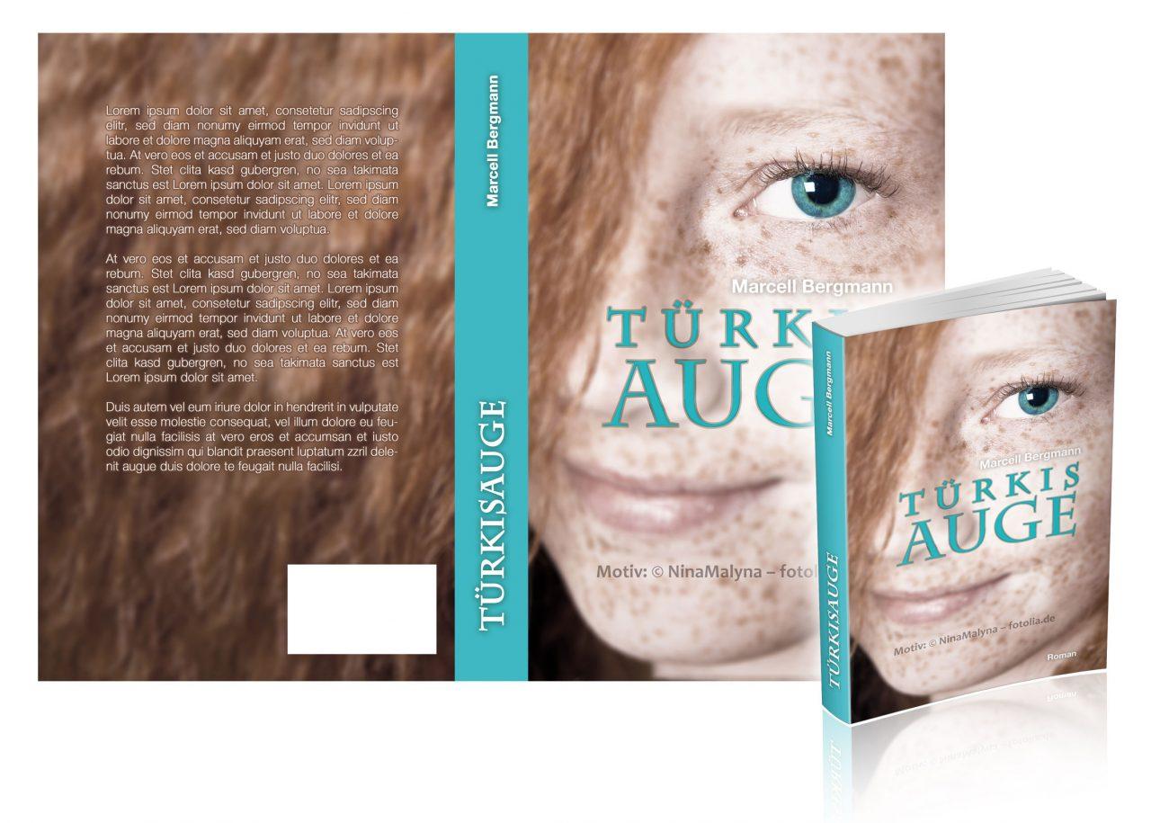 """Premade-Cover/Umschlag """"Freckles"""""""