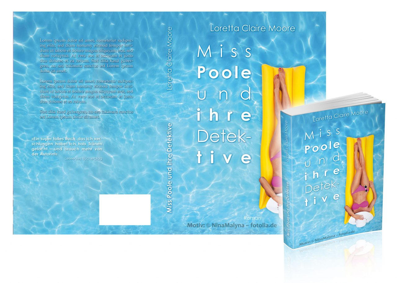 """Premade-Cover/Umschlag """"Poole1"""""""