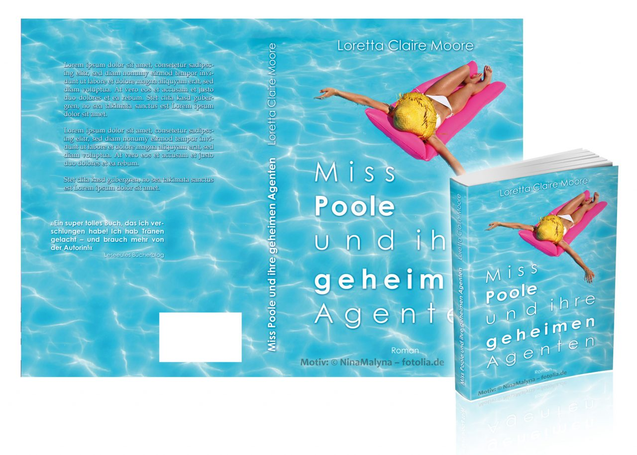 "Premade-Cover/Umschlag ""Poole2"""