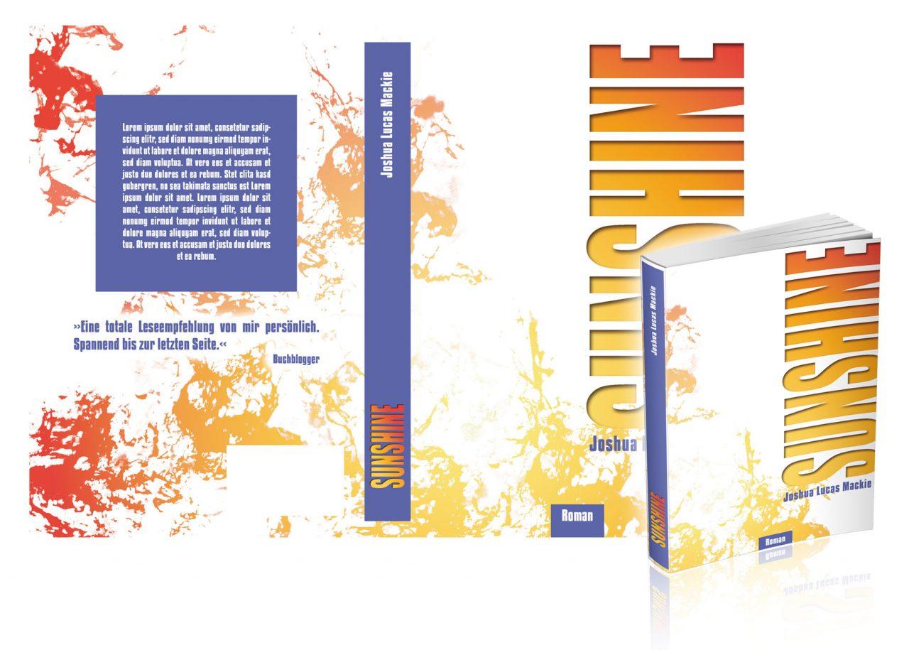 "Premade-Cover/Umschlag ""Sunshine"""