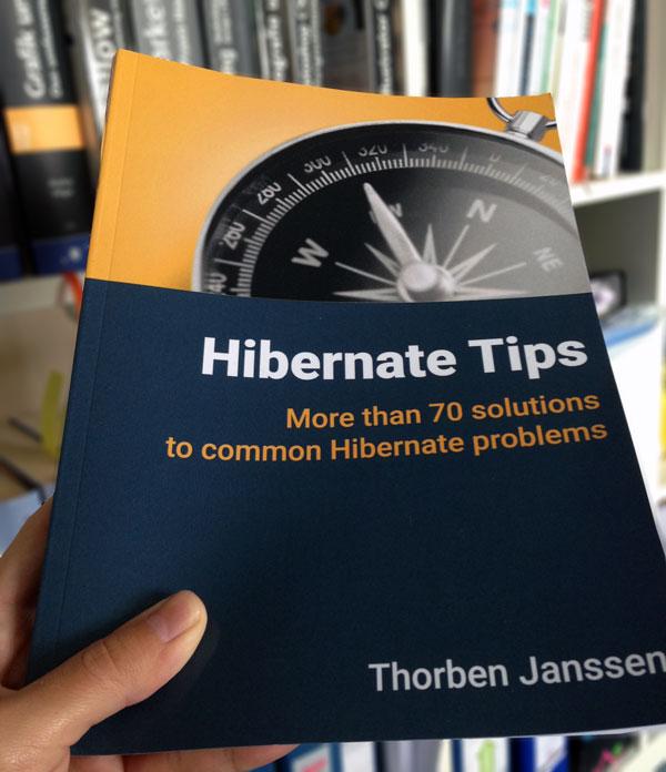 """Umschlaggestaltung """"Hibernate Tips"""" von Thorben Janssen"""