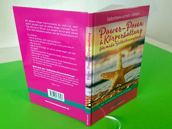 """Umschlaggestaltung """"Power-Posen & Körperhaltung"""" von Corinna Rindlisbacher"""