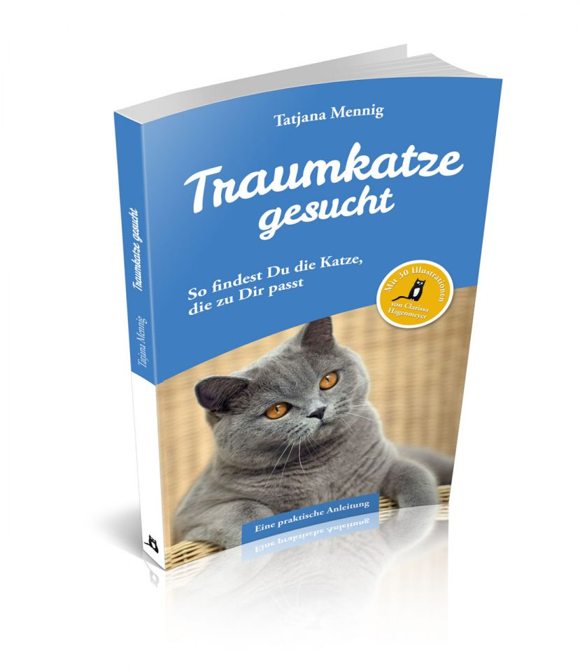 """Umschlaggestaltung """"Traumkatze gesucht"""" von Tatjana Mennig"""